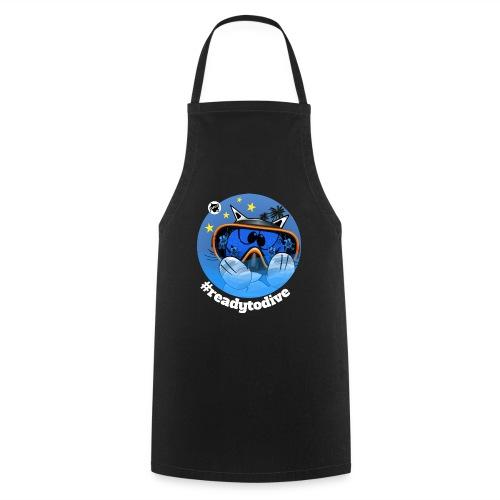 Astrokatze Fisch - Kochschürze