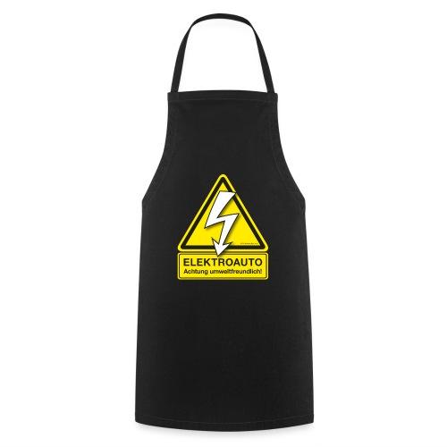 ELEKTROAUTO - Achtung umwelttfreundlich! - Kochschürze