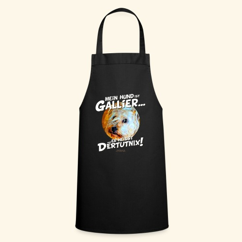 Hunde T-Shirt witziger Spruch für Hundehalter - Kochschürze