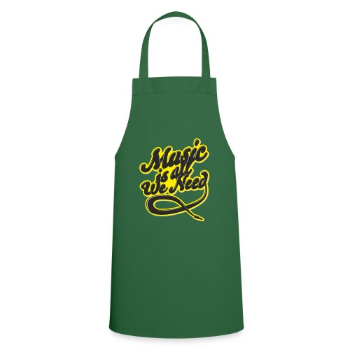 Music Is All We Need - Cooking Apron