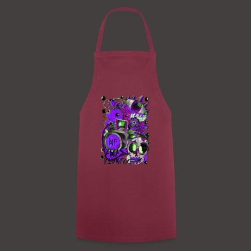 AGAC Picture Vert et Violet - Tablier de cuisine