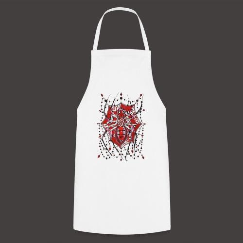 Spider Dentelle Red - Tablier de cuisine