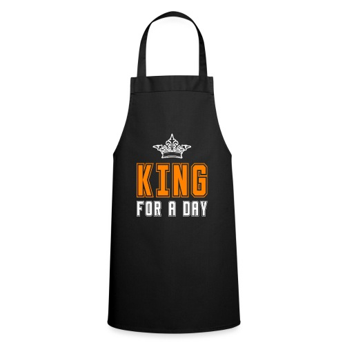 King for a day - Keukenschort