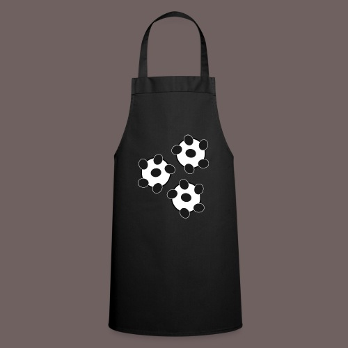 GBIGBO zjebeezjeboo - Fun - Wiggle Wiggle 01 Noir - Tablier de cuisine