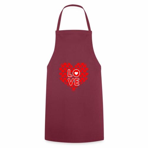 Liebe Valentienstag - Kochschürze