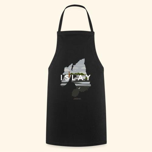 Islay Vintage Travel Poster - Kochschürze