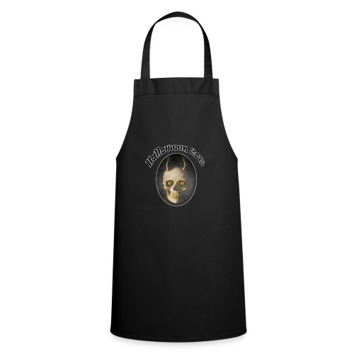 Halloween 2018 Horned Devil Skull - Cooking Apron