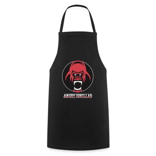 ANGRYGORILLAS Snapback Black/Grey (Logo) - Kochschürze