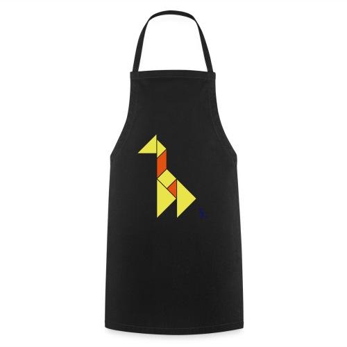 En mode tangram - Giraffe - Tablier de cuisine