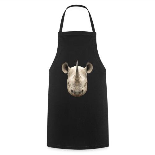 LowPoly Rhino - Förkläde