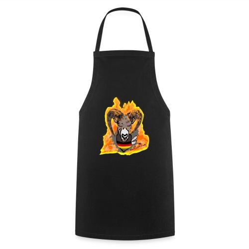 Mufflon in Flammen Germ - Kochschürze