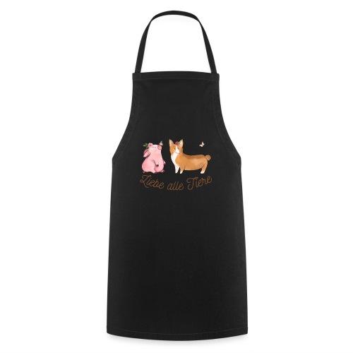 Liebe alle Tiere - Kochschürze