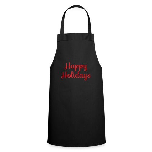 Cool happy holidays Christmas - Cooking Apron