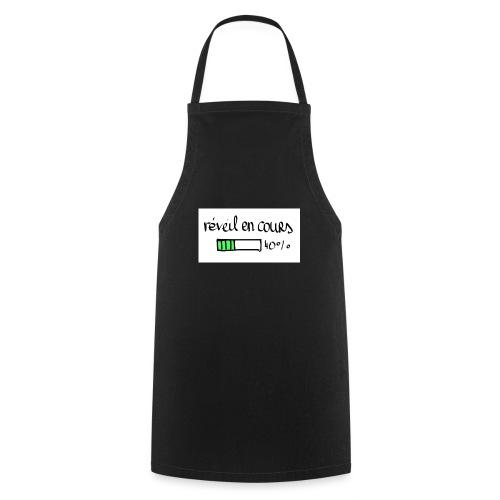 reveil en cours - Tablier de cuisine