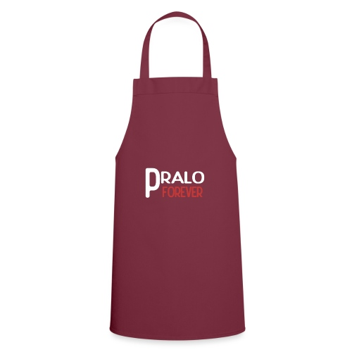pralo forever blanc et rouge - Tablier de cuisine