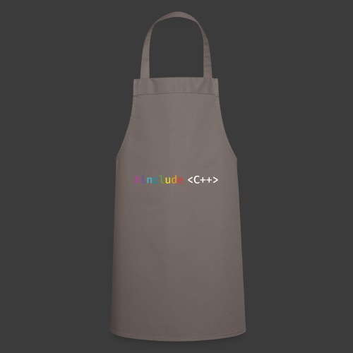 rainbow for dark background - Cooking Apron