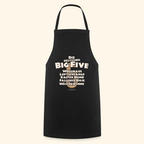 Sprüche T Shirt Die deutschen Big Five für Geeks - Kochschürze