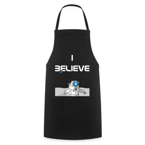 i believe Alien Astronaut Mondlandung - Kochschürze