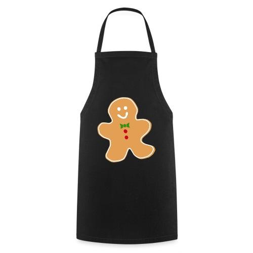cookie man christmas - Delantal de cocina