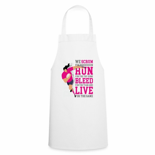 MarPlo Scrum Run Live Magenta W - Grembiule da cucina