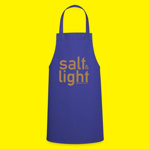 Salt & Light - Matthew 5: 13-14 - Cooking Apron