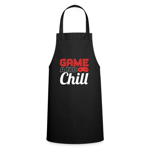 Game And Chill T-Shirt for Gamers - Kochschürze