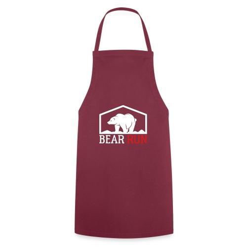 Bear Run Funny Black bear Running - Kochschürze