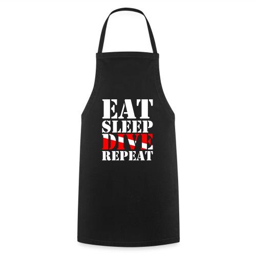 Eat Sleep Dive Repeat - Kochschürze