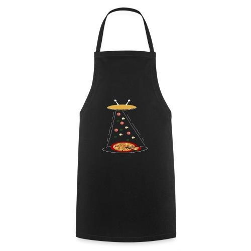 Pizza UFO divertente - Grembiule da cucina