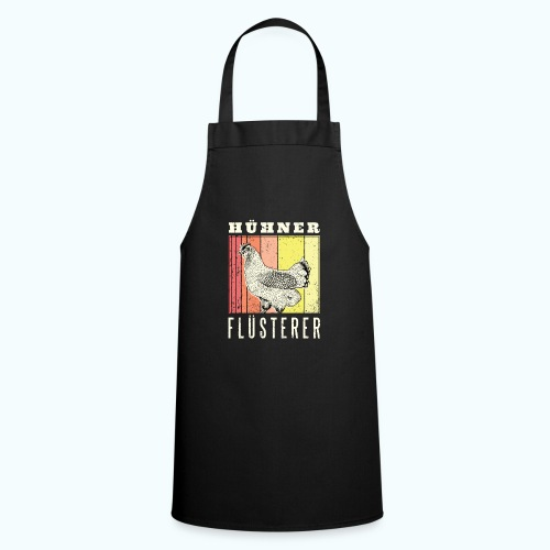 Retro chicken drawing - Cooking Apron