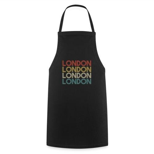 Retro London England Souvenir - Vintage London - Kochschürze
