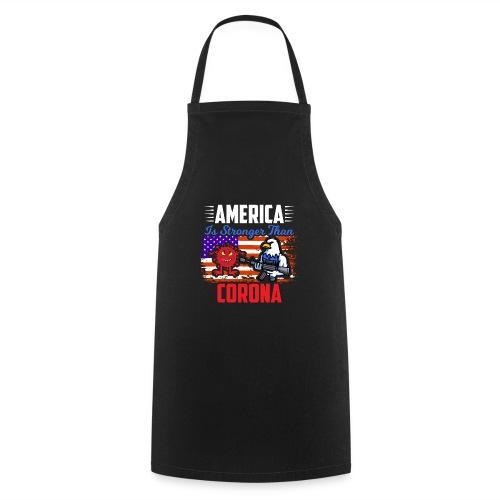 America against Corona - Kochschürze