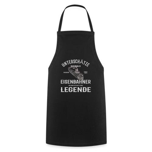 Unterschätze nie einen Eisenbahner. Legende 1973 - Kochschürze