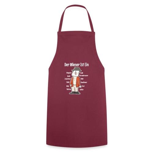Der Wiener ist ein Geschenk für Wiener - Kochschürze