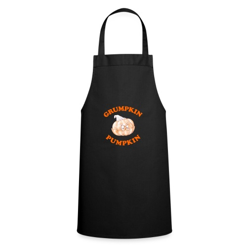 Grumpkin Pumpkin Halloween Night Fun Character - Cooking Apron