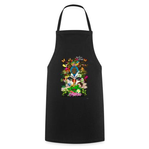 Parfum d'été by T-shirt chic et choc (tissu foncé) - Tablier de cuisine