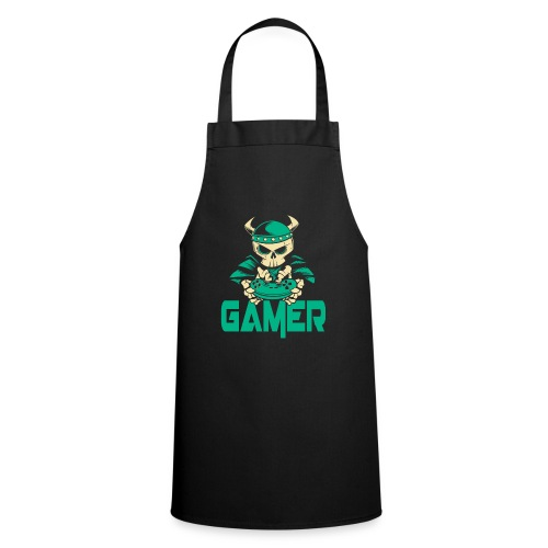 gamer skelett wikinger - Kochschürze