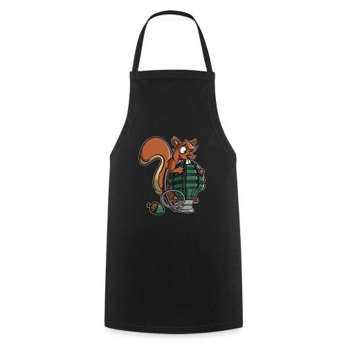 Eichhörnchen Granate - Kochschürze
