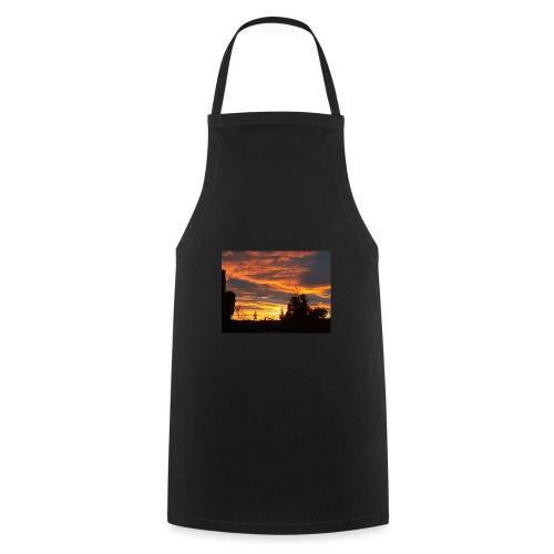 Tramonto rosso - Grembiule da cucina