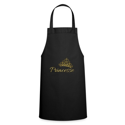 Princesse Or - by T-shirt chic et choc - Tablier de cuisine