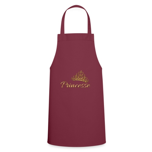 Princesse Or - by T-shirt chic et choc - Tablier de cuisine