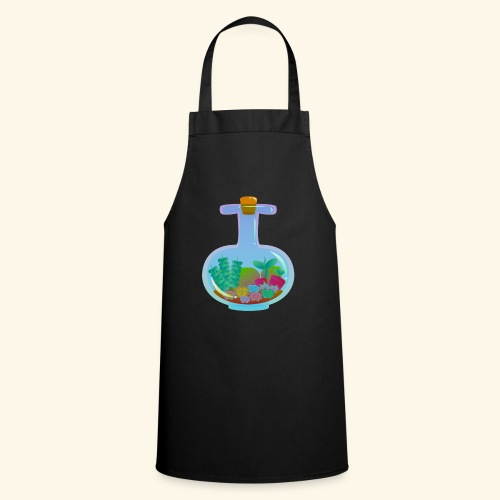 Bottled Succulents - Cooking Apron