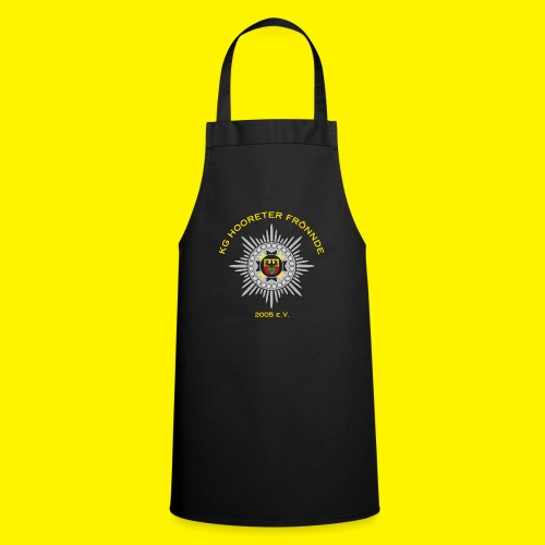Gelbe Schrift - Kochschürze