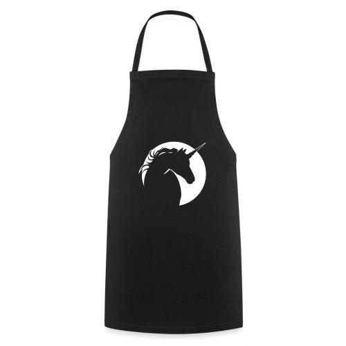 Eenhoorn diapositief - Keukenschort