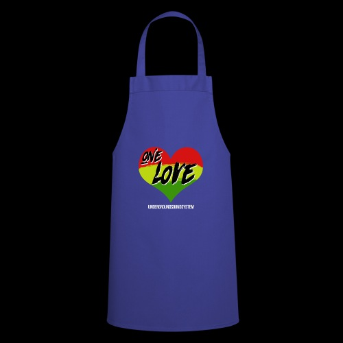 ONE LOVE - HEART - Kochschürze