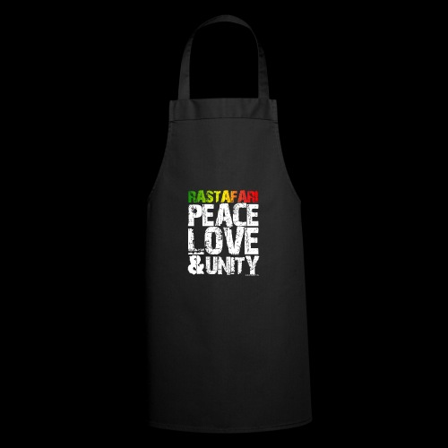 RASTAFARI - PEACE LOVE & UNITY - Kochschürze