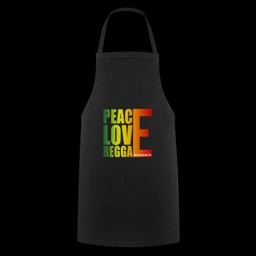 PEACE LOVE REGGAE - Kochschürze