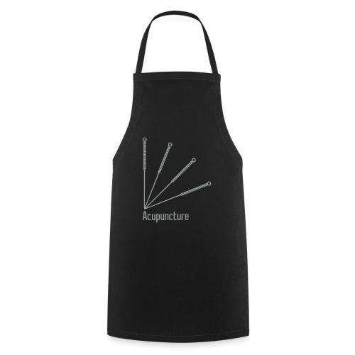 Acupuncture Eventail vect - Tablier de cuisine