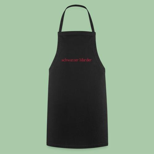 schwarzer Marder - Kochschürze