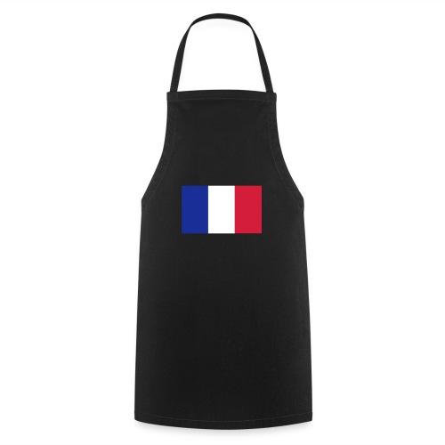 Französische Flagge - Kochschürze